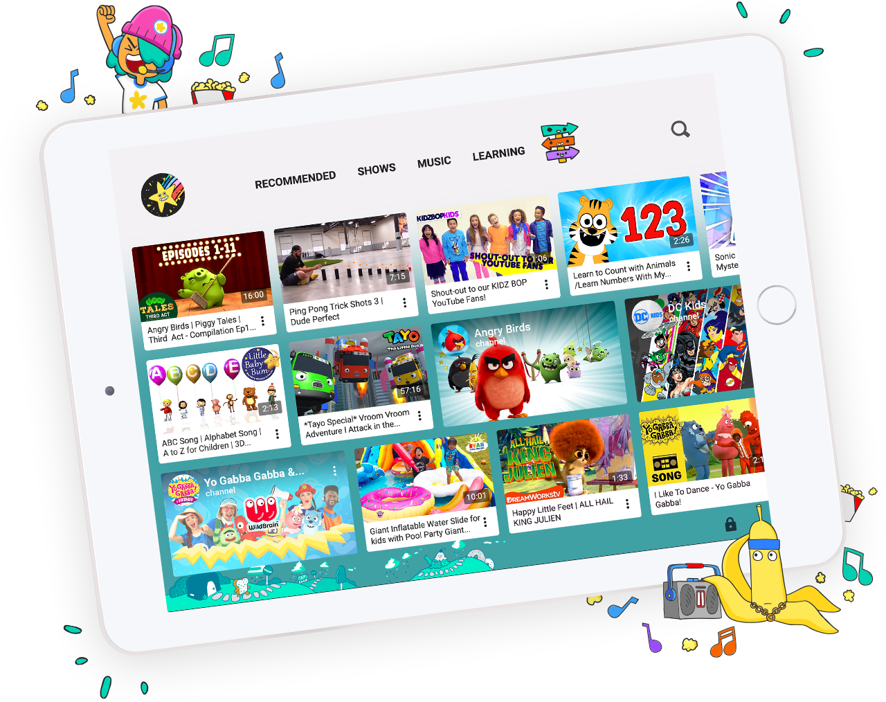 Youtube Introducing kid profiles, new parental controls, and a new exciting look for kids!