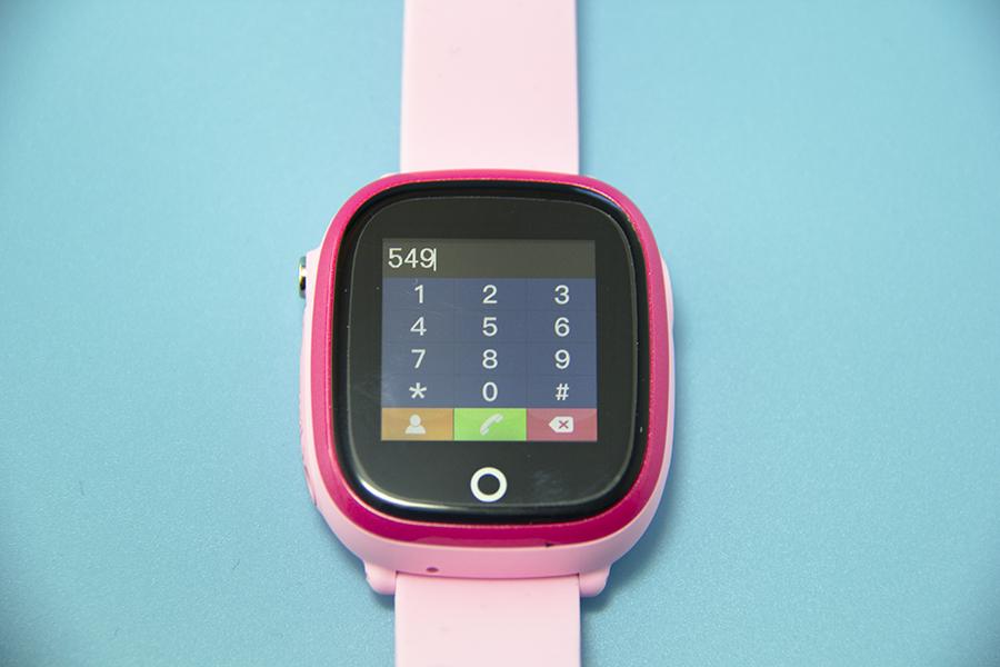 Đồng hồ trẻ em có màn hình cảm ứng, bàn phím số