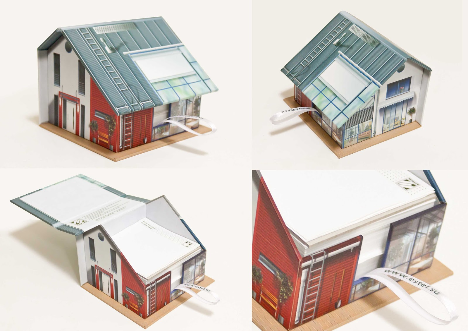Куб блоки с креативным оформлением