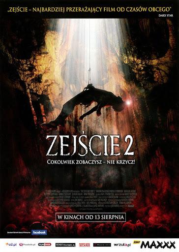 Przód ulotki filmu 'Zejście 2'