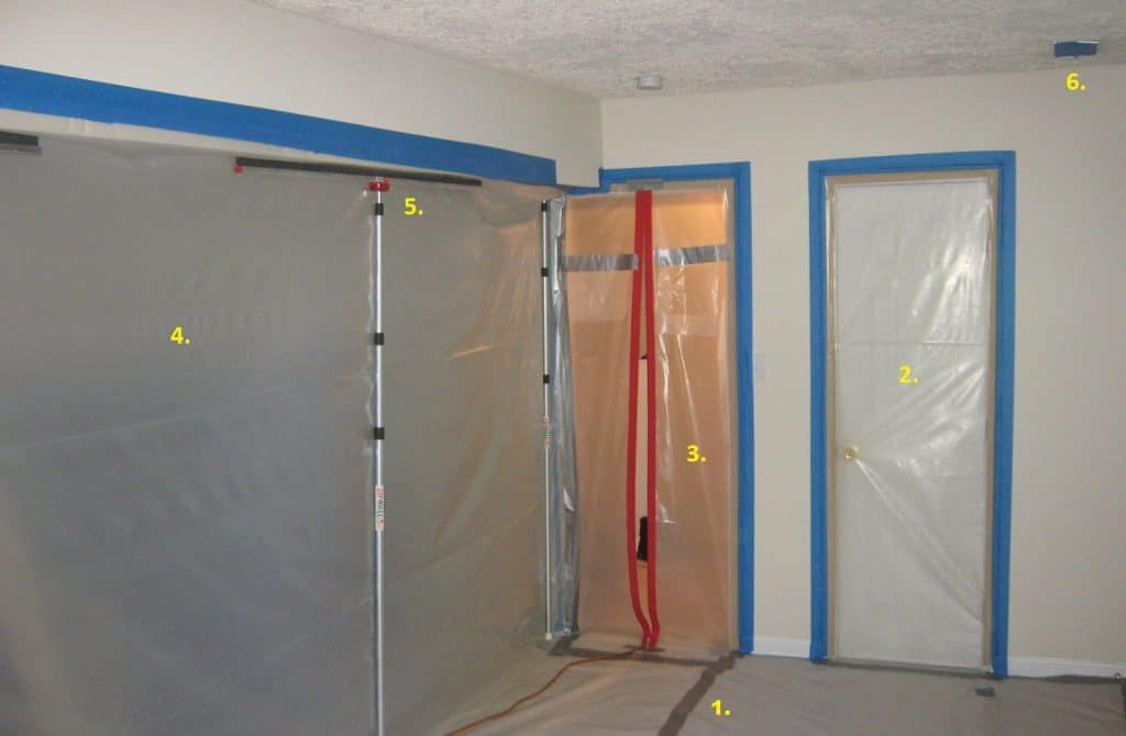 Mold remediation barrier done right