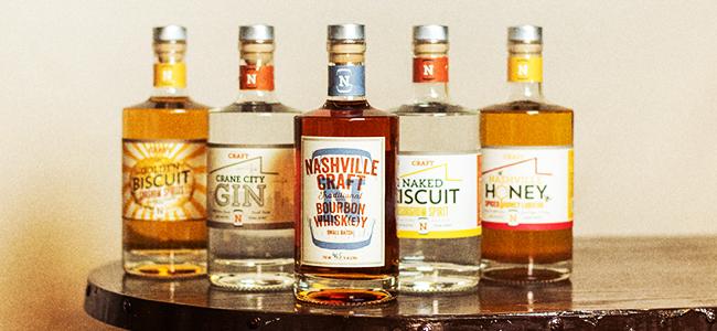 Nashville Craft Distillery's Line of Craft Spirits