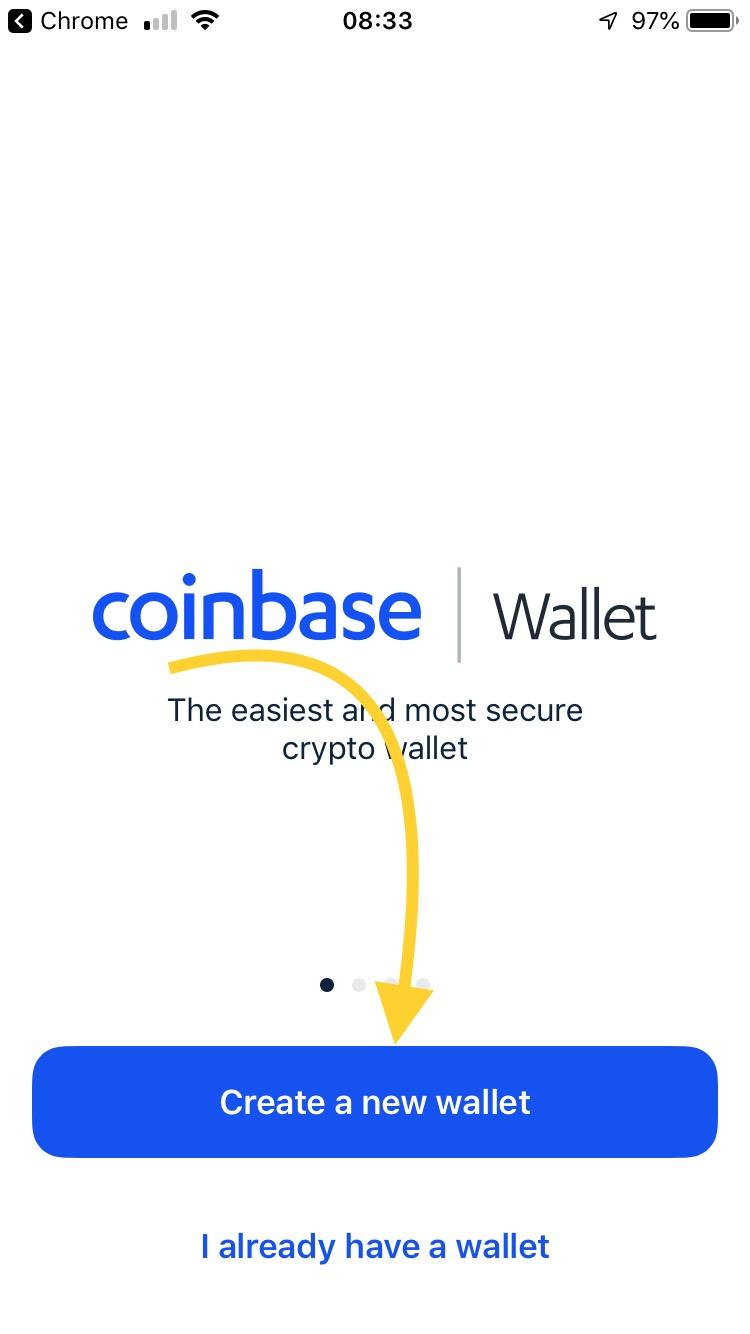 Stwórz nowy portfel Bitcoina