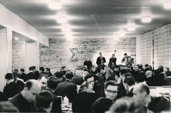 """Kohvik """"Sigma"""", sisevaade. Tartu, 1967."""