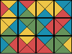 A Collection of Twelve Tiles