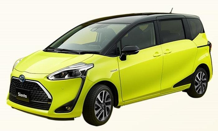 Toyota Sienta ไมเนอร์เชนจ์ใหม่ พบกันแน่ในเดือนนี้