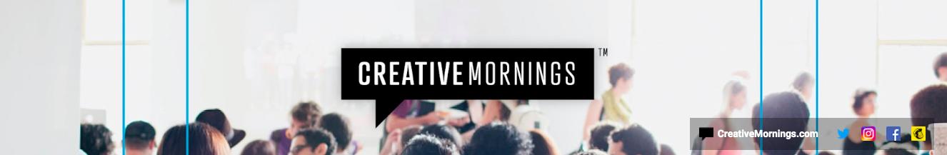 CreativeMornings YouTube banner