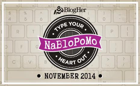 NaBloPoMo 2014