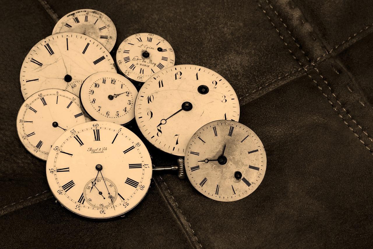 Control de tiempos... ¡Qué maravilla! uno de los grandes beneficios de viajar sola