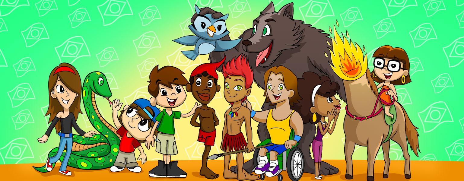 Personagens do folclore brasileiro - O Legislativo para crianças - Câmara  dos Deputados