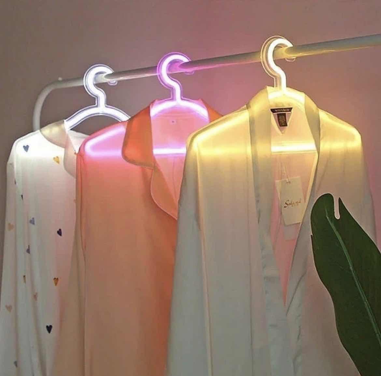 Led Neon Clothes Hanger