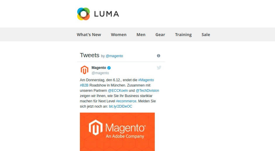 awesome Magento twitter extension