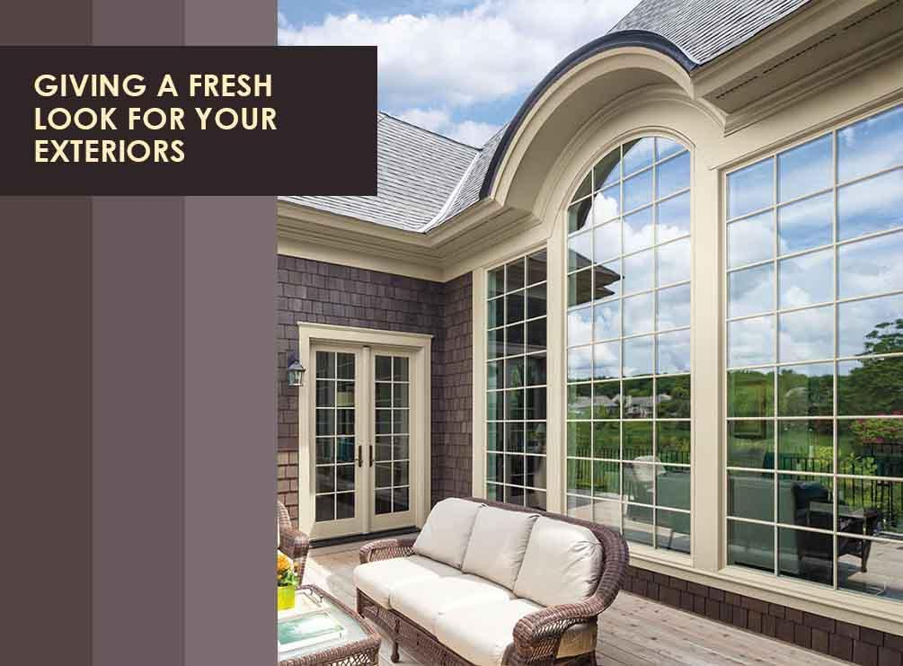 Fresh Look for Your Exteriors