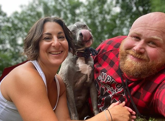 Couple adopts 20 elderly dogs and prepares their home for them