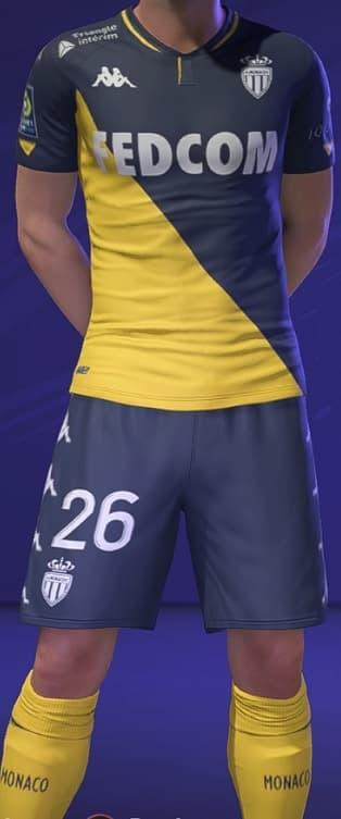FIFA 21 AS Monaco Away kit