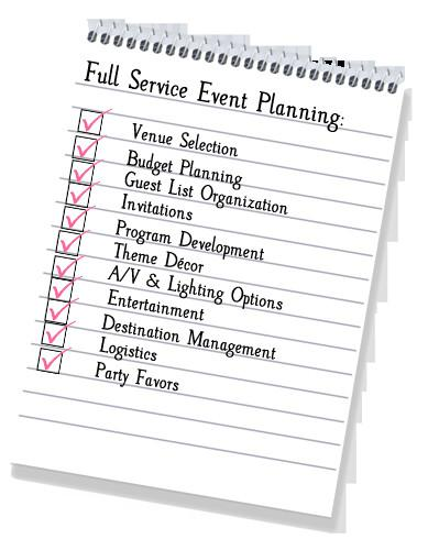 5 Tips To Help In Streamlining The Steps In The Event-Planning Process
