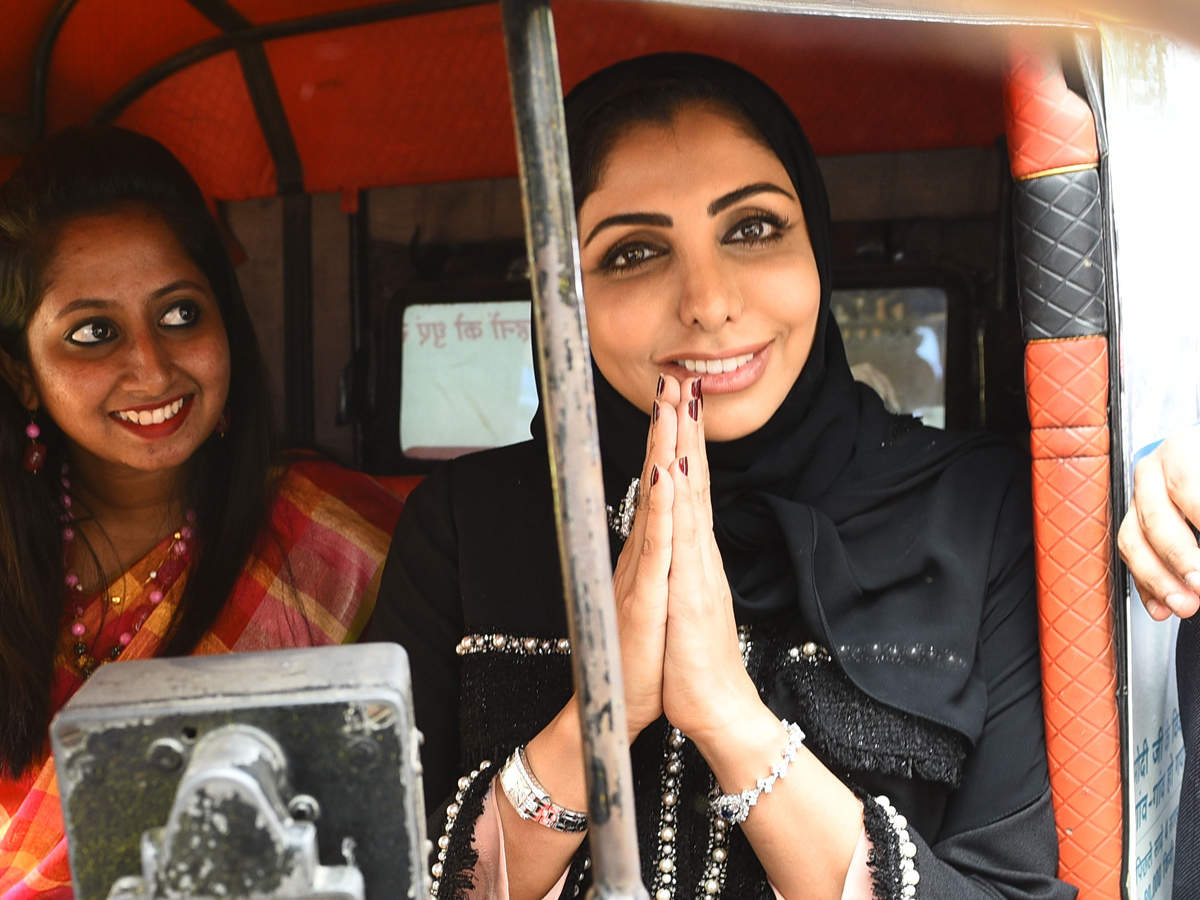 Now, zip through Chennai with a 'pilot in hijab' behind wheel ...