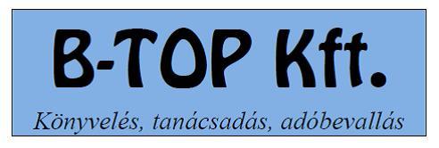 B-Top Kft. - könyvelés, tanácsadás, adóbevallás