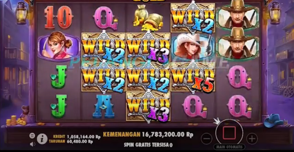 Slot Online Wild West Gold Pragmatic Play