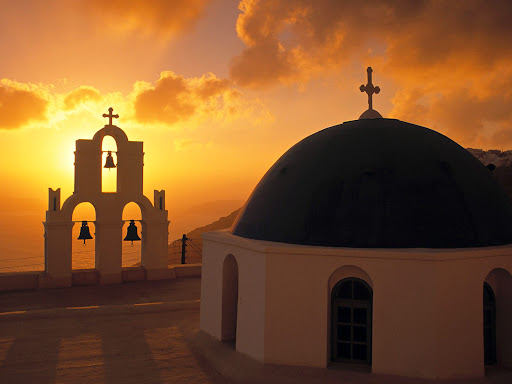 Kimis Theotokov Church, Santorini, Cyclades Islands