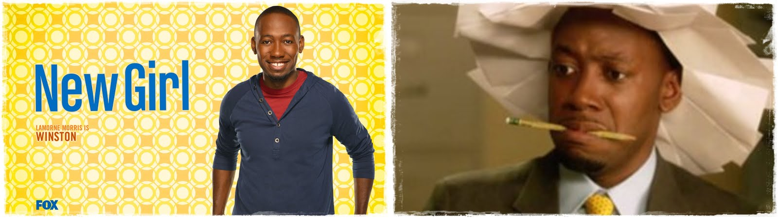 New Girl - Winston Bishop - Lamorne Morris