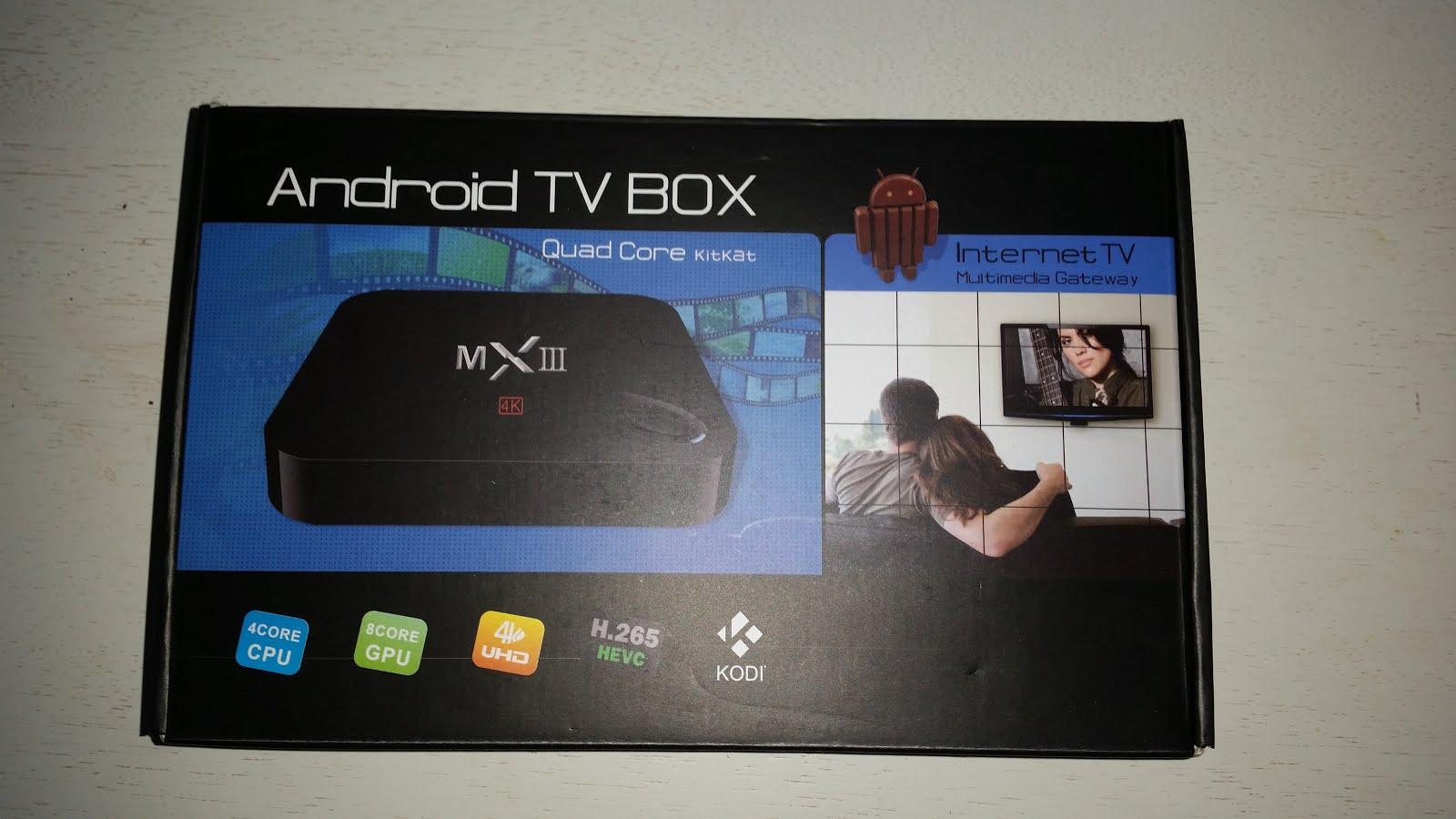 boitier tv android xbmc quad core mx3 smart media internet. Black Bedroom Furniture Sets. Home Design Ideas