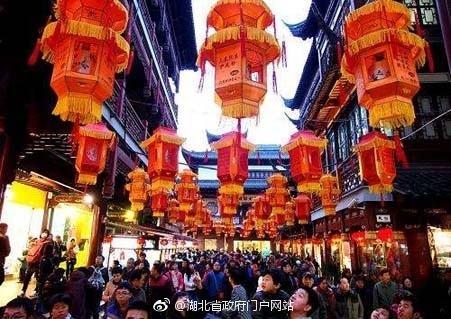 儘管疫情爆發,武漢政府仍堅持舉辦春節慶祝活動,以推動旅遊業發展,直到形勢變得極其嚴重。 //圖片來源:湖北省政府