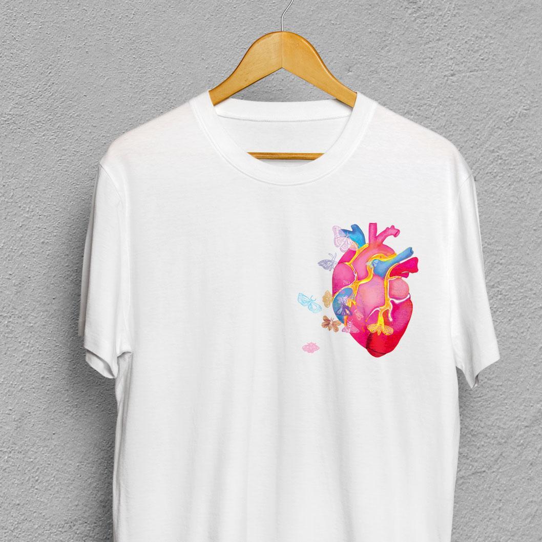 Художница Елена Шейдлина и PayPal выпустят коллекционную футболку к #ЩедромуВторнику