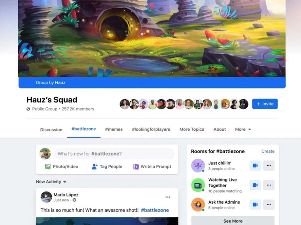 Grupy dla streamerów Facebook
