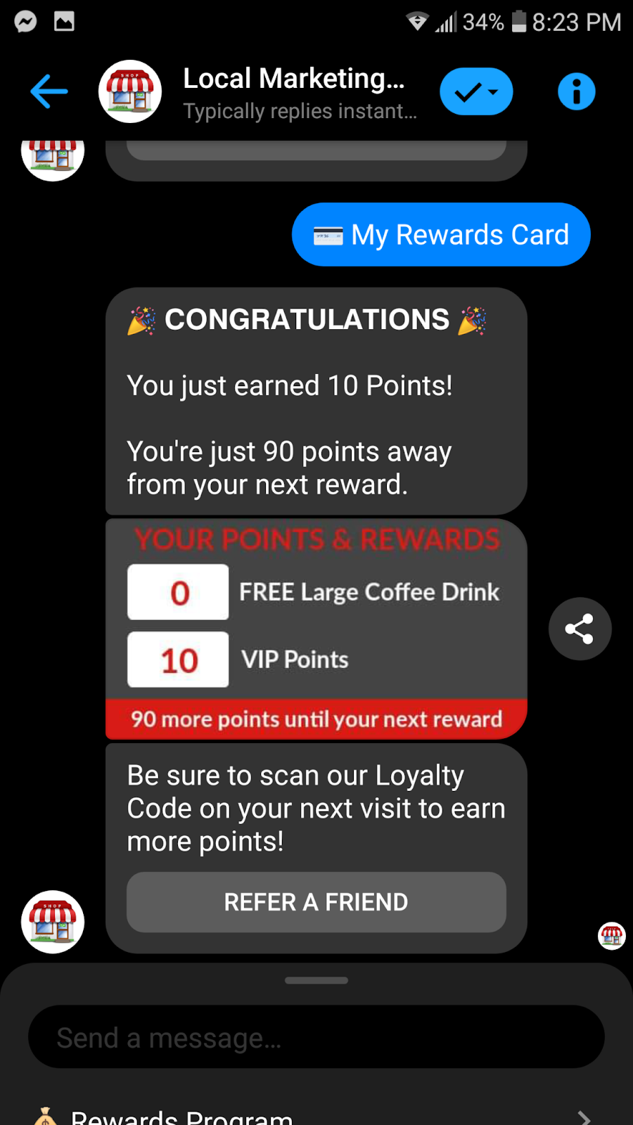 Loyalty Program Example