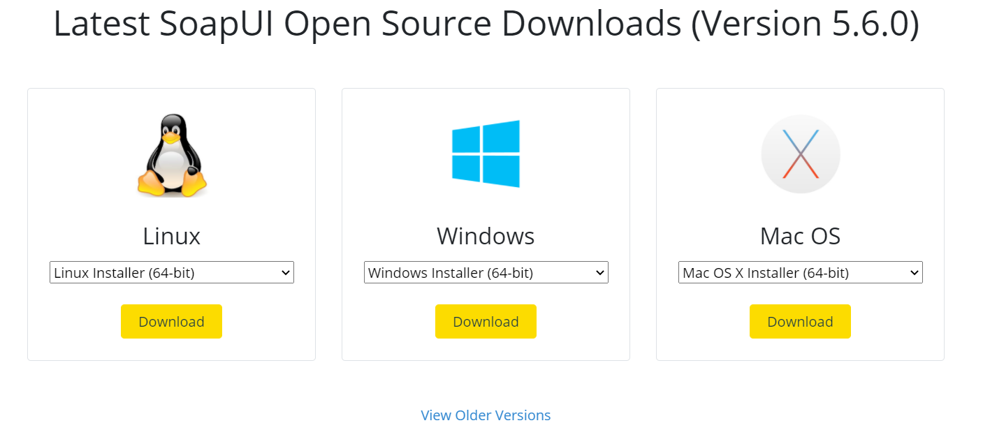 SoapUI OpenSource Downloads