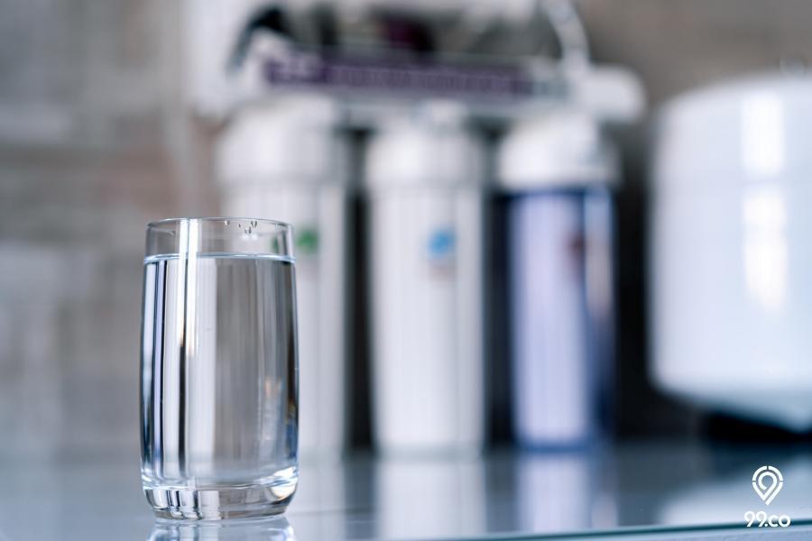 cara menjernihkan air