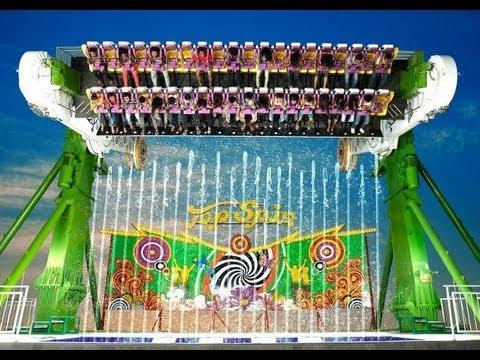 top spin in Essel world amusement park mumbai