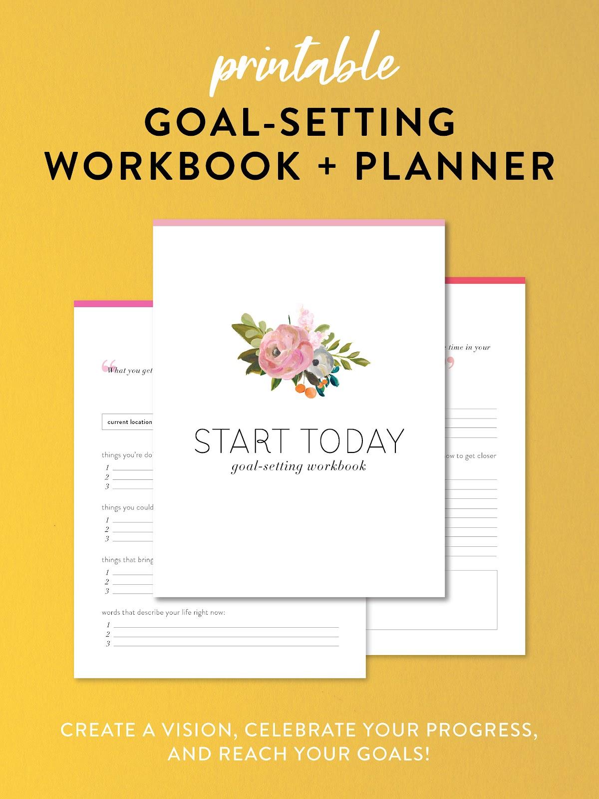Goal-Setting Workbook + Planner