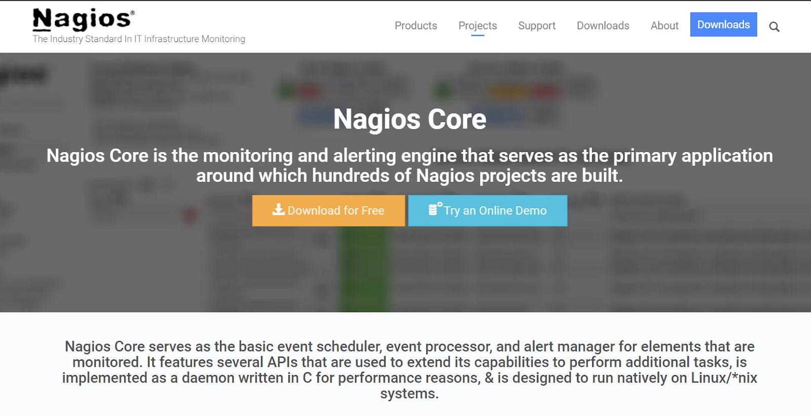 LAN Monitoring Tools - Nagios Core