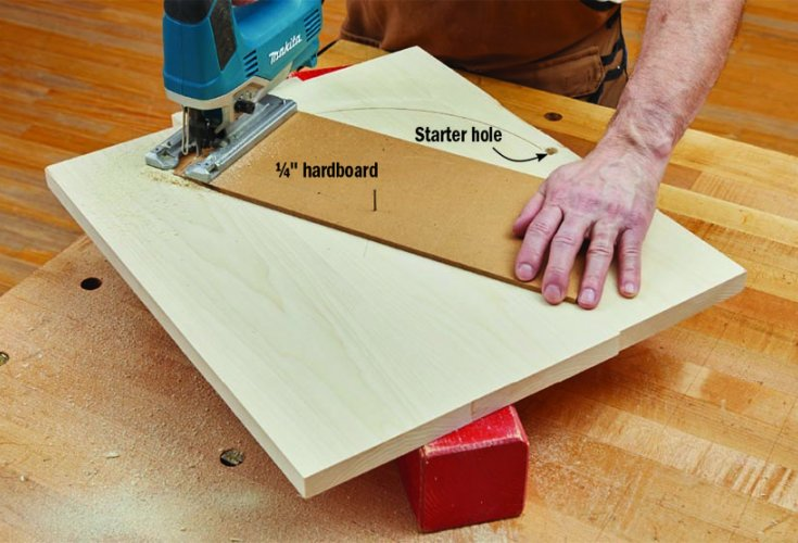 how to use a jigsaw to cut wood