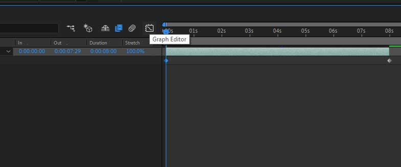 graph editor in after effects