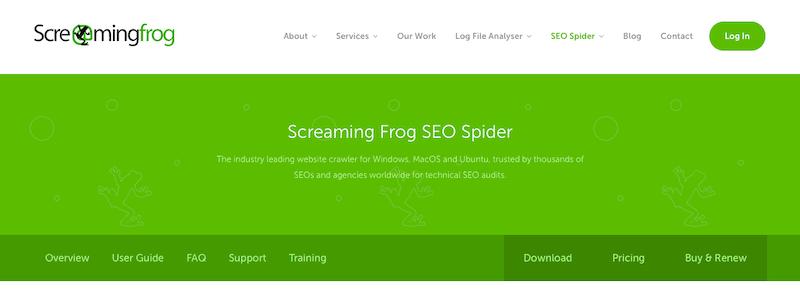 Best SEO Tools Screaming Frog