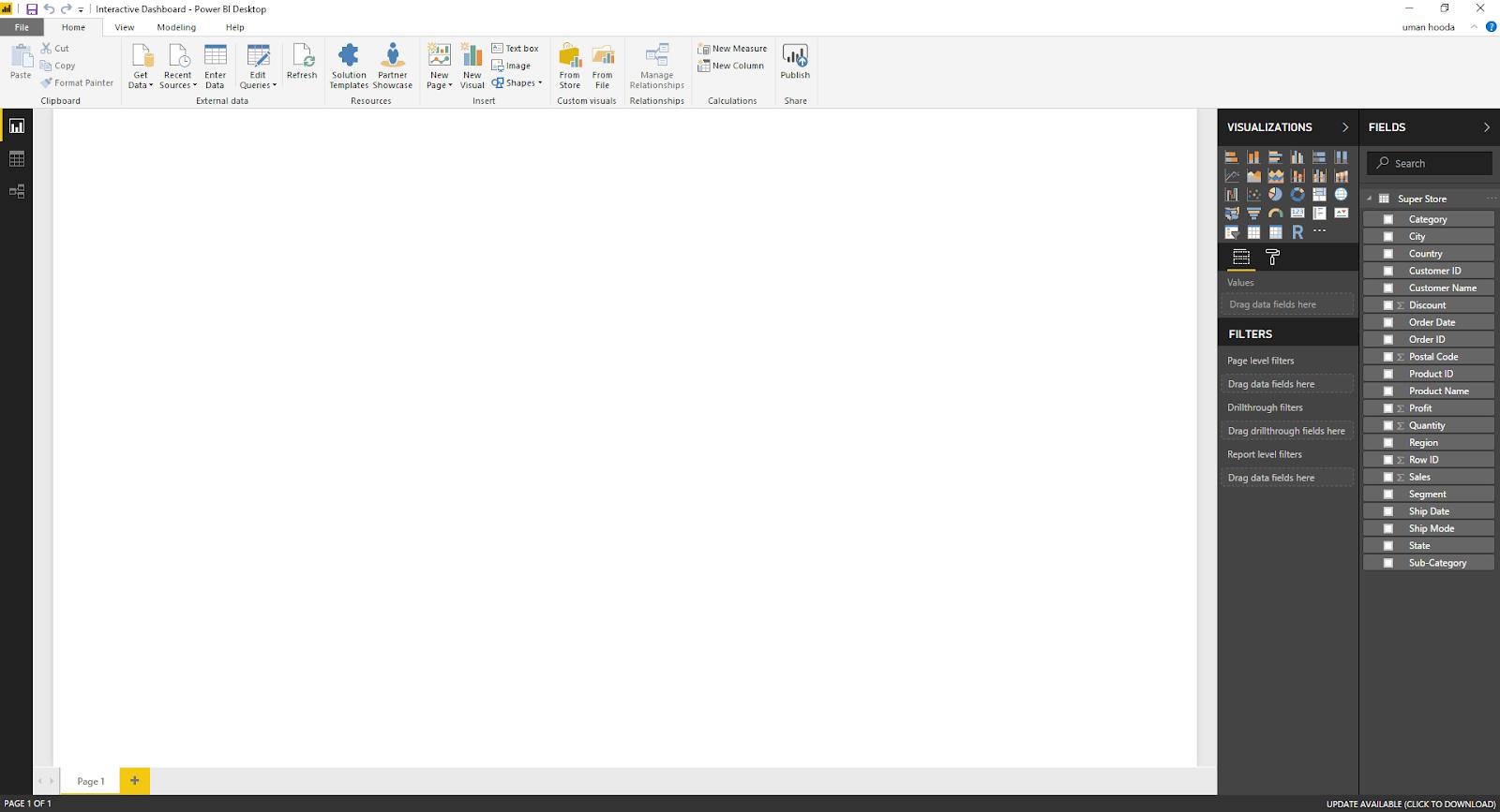 Interactive Dashboard In Microsoft Power BI 30