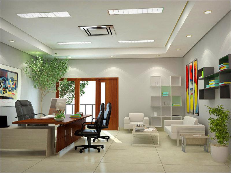 Thiết kế thi công nội thất văn phòng theo phong thủy