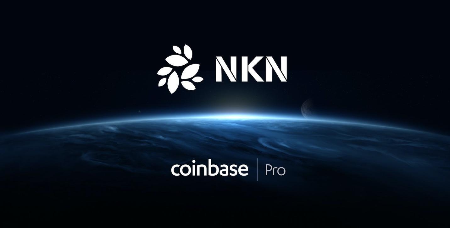 NKN listed on Coinbase