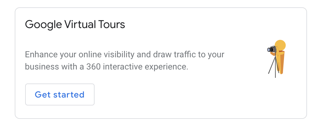 Google Virtual Tour feature.