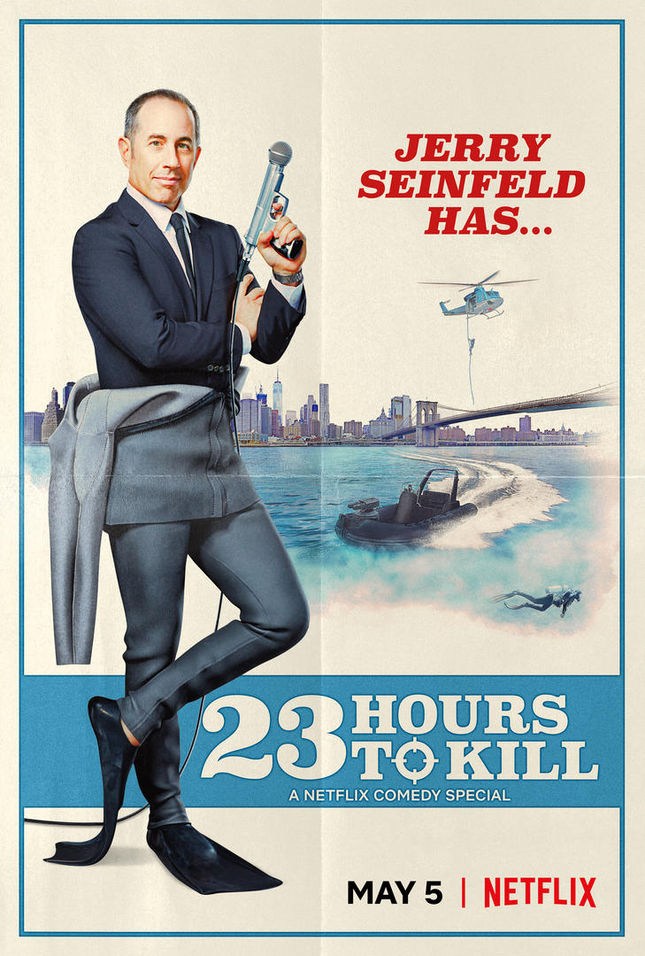 Netflix Releases Promo For His New Comedy Special, Jerry Seinfeld: 23 Hours to Kill - Image 1