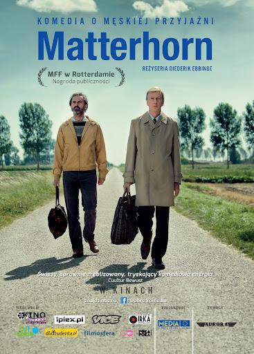Przód ulotki filmu 'Matterhorn'