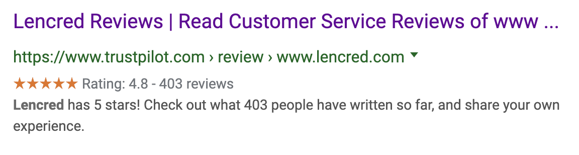 LenCred Reviews