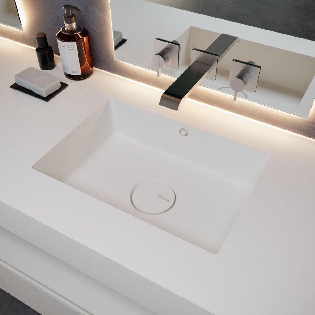 lavabo đá nhân tạo