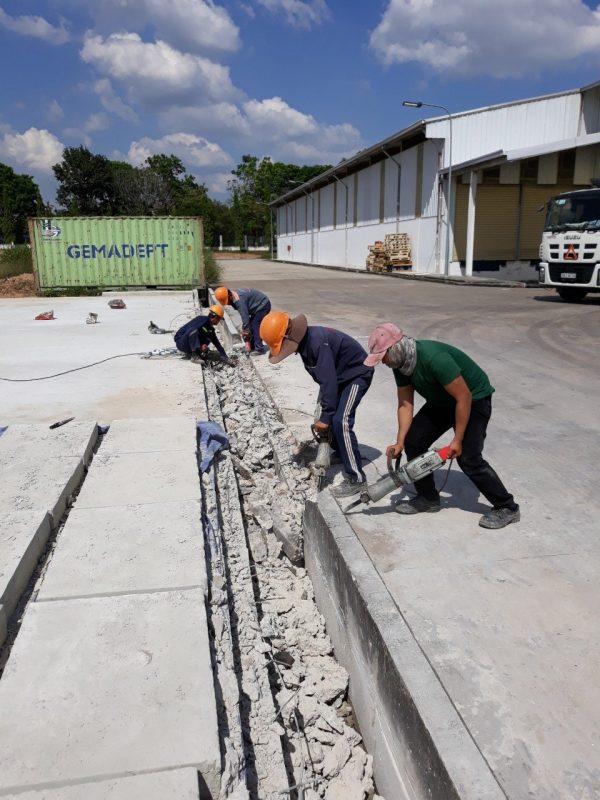 Dịch vụ khoan cắt bê tông ra đời đáp ứng được tối đa nhu cầu của các công trình