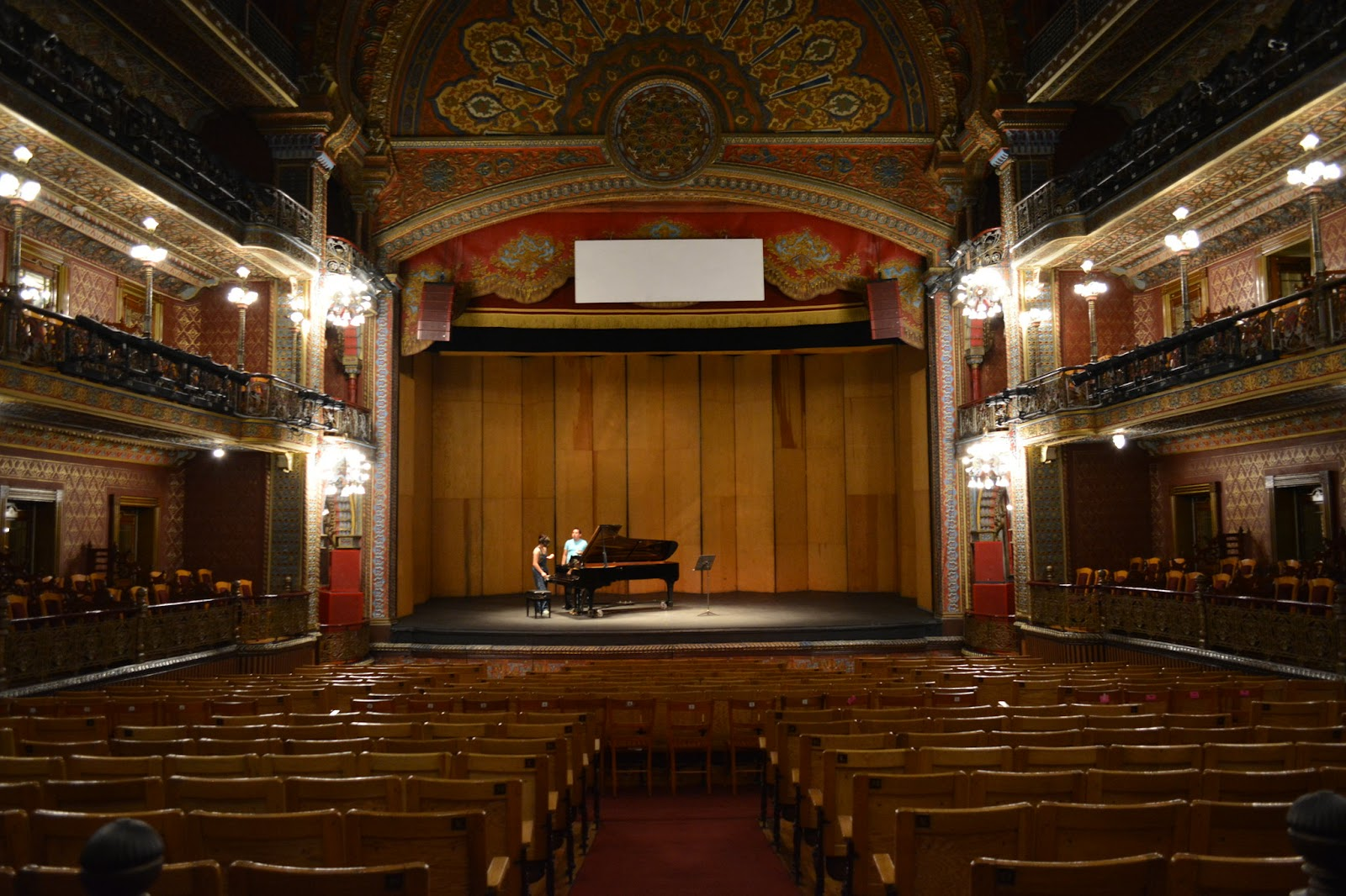 Best Places to Visit in Guanajuato, Mexico by travel blog, The Common Traveler: Inside of Juarez Theater in Guanajuato, Mexico