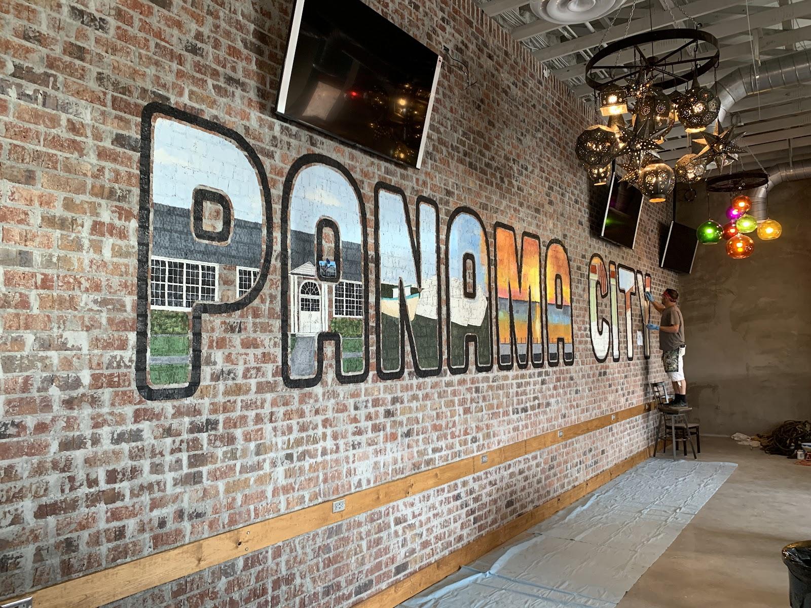 panama city mural los rancheros wall art