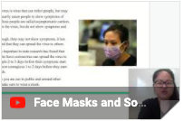 facemask video thumbnail